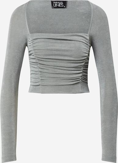 Parallel Lines T-shirt i rökgrå, Produktvy