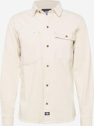 DICKIES Overhemd in de kleur Wolwit, Productweergave