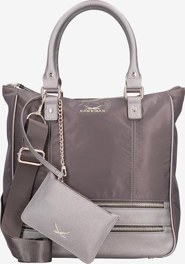 SANSIBAR Handtasche in grau / greige, Produktansicht