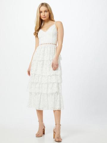 Skirt & Stiletto Cocktailjurk in Wit