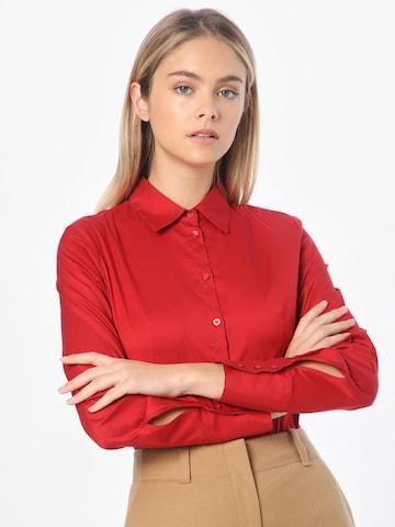 HUGO Bluse in Rot