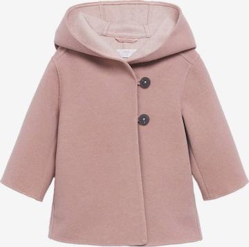 Manteau 'Sandra' MANGO KIDS en rose