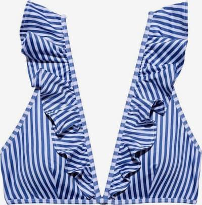 Underprotection Bikinitop ' Rita ' in blau / weiß, Produktansicht