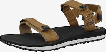 JACK WOLFSKIN Sandale in Braun