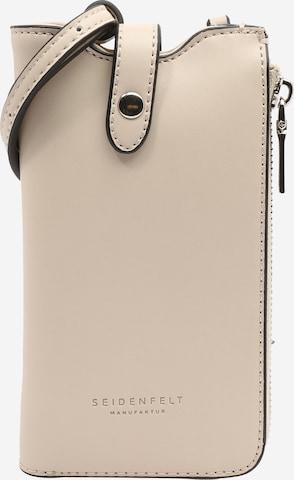 Seidenfelt Manufaktur Mobilskal 'Moss' i beige