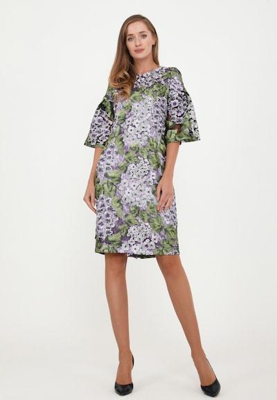Madam-T Kleid 'Dega' in mischfarben, Modelansicht