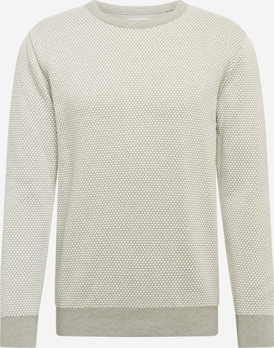 Kronstadt Sweater 'Rice' in grey mottled / off white, Item view