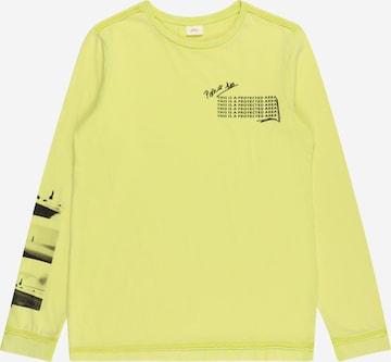 T-Shirt s.Oliver en jaune