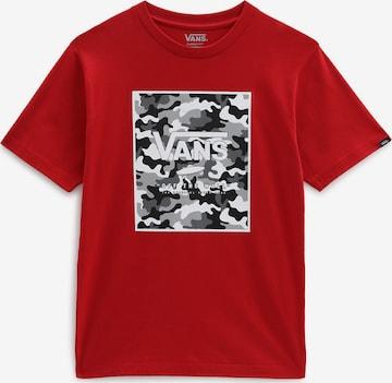 sarkans VANS T-Krekls 'PRINT BOX'