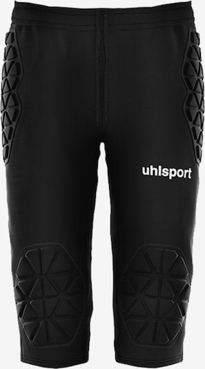 UHLSPORT Hose in schwarz, Produktansicht