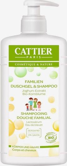 Cattier Duschgel 'Joghurt-Extrakt & Kornblumenwasser' in weiß, Produktansicht
