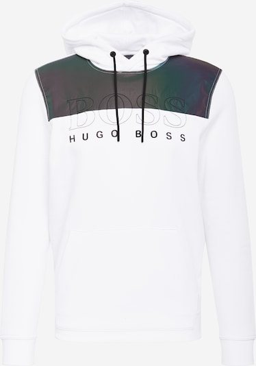 BOSS Sweatshirt 'Wenorth' in graphit / weiß, Produktansicht