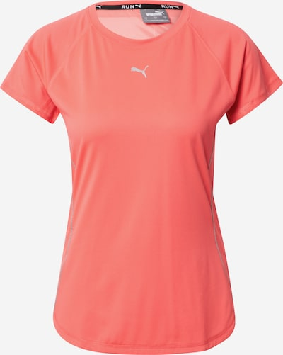 PUMA Functioneel shirt in de kleur Lichtgrijs / Zalm roze, Productweergave
