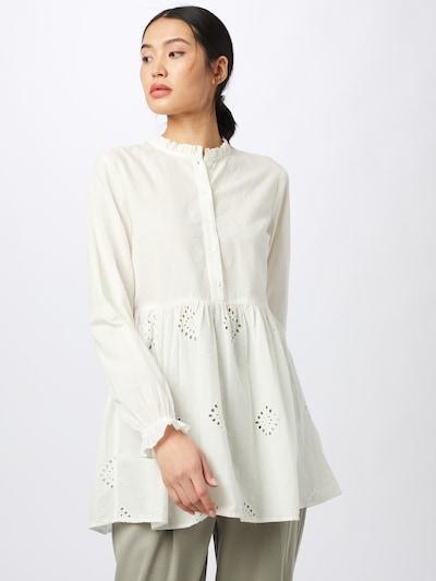 ONLY Tunique 'ONLIRMA' en blanc chiné, Vue avec modèle