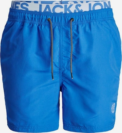 JACK & JONES Sportzwembroek in de kleur Blauw / Wit, Productweergave