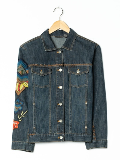 Chico'S Jacket & Coat in M in Blue denim, Item view