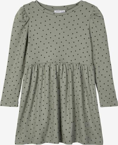 NAME IT Kleid in stone / dunkelgrün, Produktansicht