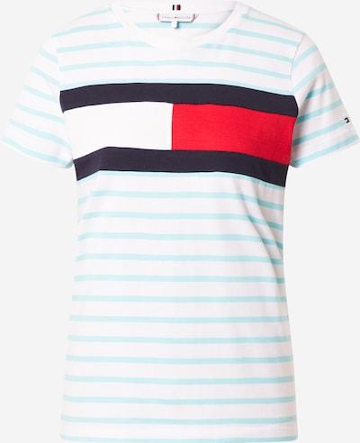 Maglietta TOMMY HILFIGER di colore opale / blu scuro / rosso / bianco, Visualizzazione prodotti