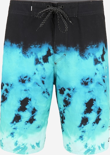 QUIKSILVER Plavecké šortky 'EVERYDAY RAGER 20' - aqua modrá / černá, Produkt
