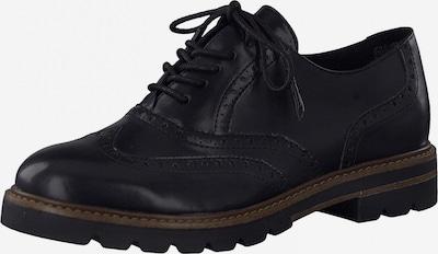 Pantofi cu șireturi MARCO TOZZI pe negru, Vizualizare produs