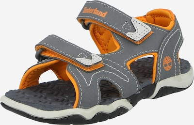 TIMBERLAND Sandale 'Adventure Seeker in grau / orange, Produktansicht