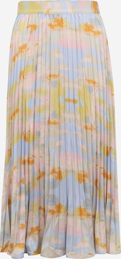 Fustă 'PASTILA' Y.A.S Tall pe albastru deschis / oliv / portocaliu / roz pastel, Vizualizare produs