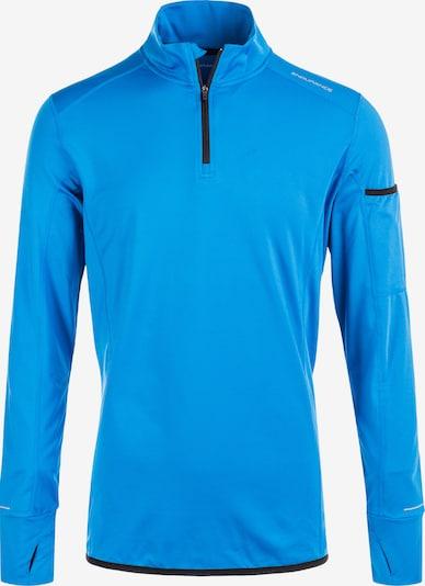 ENDURANCE Funktionsshirt BANCOK HANDY POCKET in blau: Frontalansicht