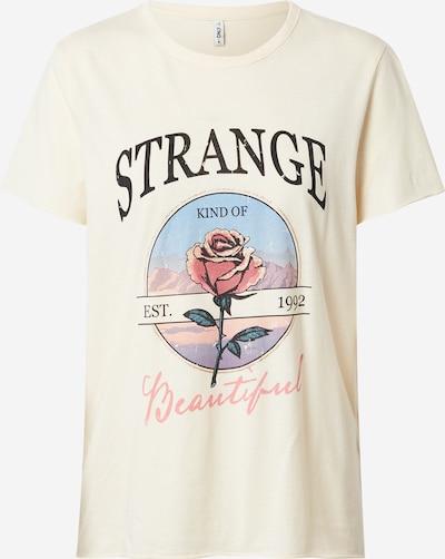 ONLY Shirt in ecru / mischfarben, Produktansicht