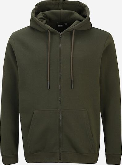 Only & Sons Big & Tall Ζακέτα φούτερ 'CERES' σε σκούρο πράσινο, Άποψη προϊόντος