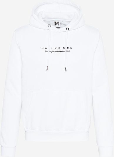 Hailys Men Sportisks džemperis 'Freddy' melns / balts, Preces skats