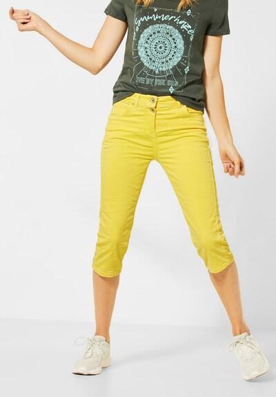 CECIL Hose in gelb, Modelansicht