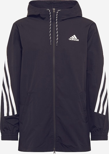 ADIDAS PERFORMANCE Athletic Jacket in Black / White, Item view