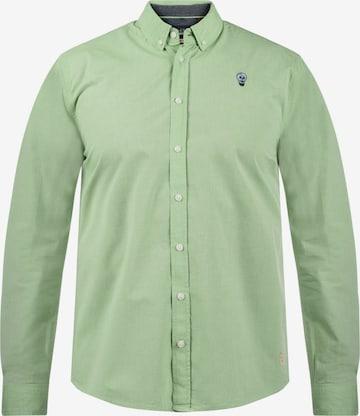 BLEND Hemd in Grün