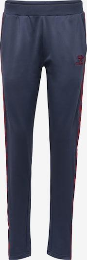 Hummel Pantalon de sport en bleu / bordeaux, Vue avec produit