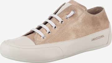 Candice Cooper Rock-libra Sneakers Low in Gold