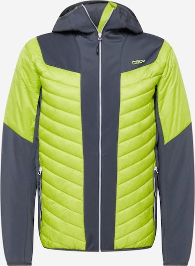 CMP Outdoor jacket in Dark grey / Kiwi, Item view