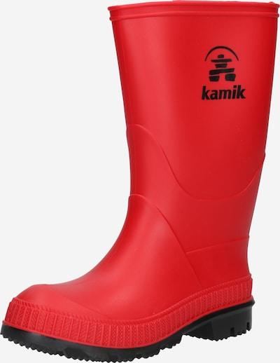 Kamik Regenlaarzen 'STOMP' in de kleur Rood / Zwart, Productweergave