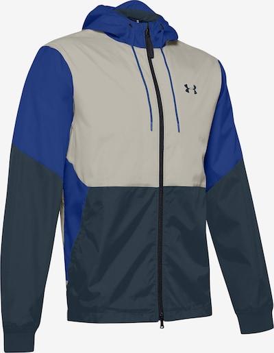 UNDER ARMOUR Sportjas in de kleur Blauw / Wit, Productweergave