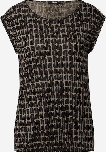 OPUS T-shirt 'Strolchi' i khaki / svart, Produktvy