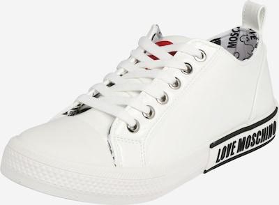 Love Moschino Sneakers laag in de kleur Zwart / Wit, Productweergave