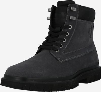 Calvin Klein Jeans Šněrovací boty - tmavě šedá, Produkt