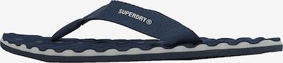 Superdry Teenslippers in de kleur Navy / Wit, Productweergave