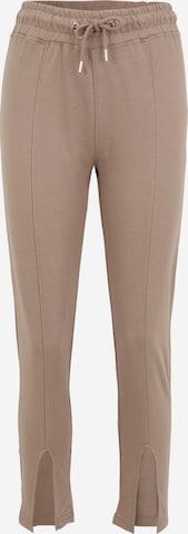 Missguided Petite Püksid, värv pruun