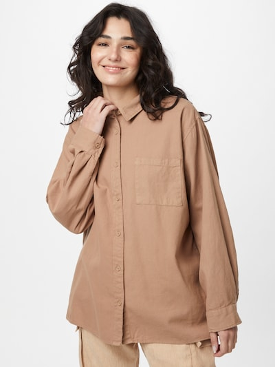 Cotton On Bluse in hellbraun, Modelansicht