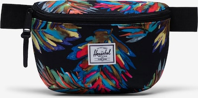 Herschel Чанта за кръста 'Fourteen' в кралско синьо / тъмнолилаво / оранжево / питая / черно, Преглед на продукта