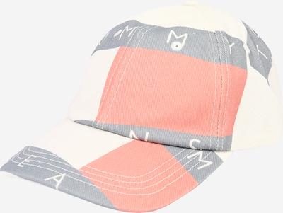 Șapcă Tommy Jeans pe albastru porumbel / corai / alb, Vizualizare produs