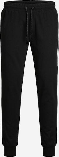 JACK & JONES Broek in de kleur Zwart / Wit: Vooraanzicht
