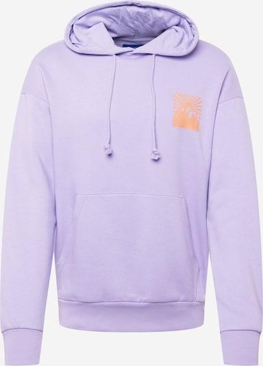 JACK & JONES Sweatshirt 'BRINK' in lavendel / orange, Produktansicht