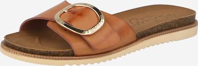 MUSTANG Pantolette in cognac, Produktansicht