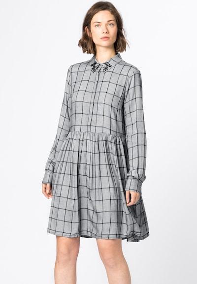 HALLHUBER Blusenkleid in grau, Modelansicht